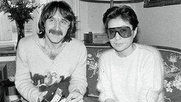 Peter Urban und Yoko Ono © Peter Urban