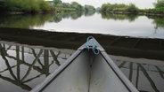 Mit dem Kanu auf der Stör © NDR Foto: Antje Martin