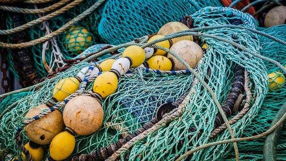 Fischernetze © Fotolia.com Foto: hardyuno