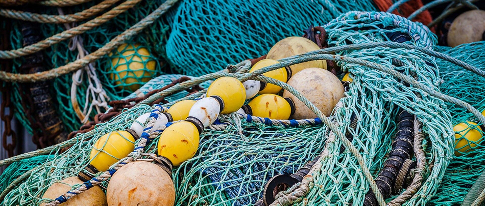 Fischernetze, © Fotolia.comFotograf: hardyuno