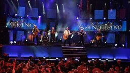 Santiano auf der Bühne. © NDR Foto: Oke Jens