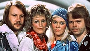 ABBA 74 in Brighton beim Grand Prix Eurovision © picture-alliance/ dpa