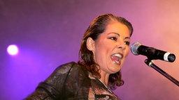 """Sandra, erfolgreiche Schlagersängerin der achtziger Jahre mit ihrem großem Hit """"Maria Magdalena"""". © dpa - Fotoreport"""