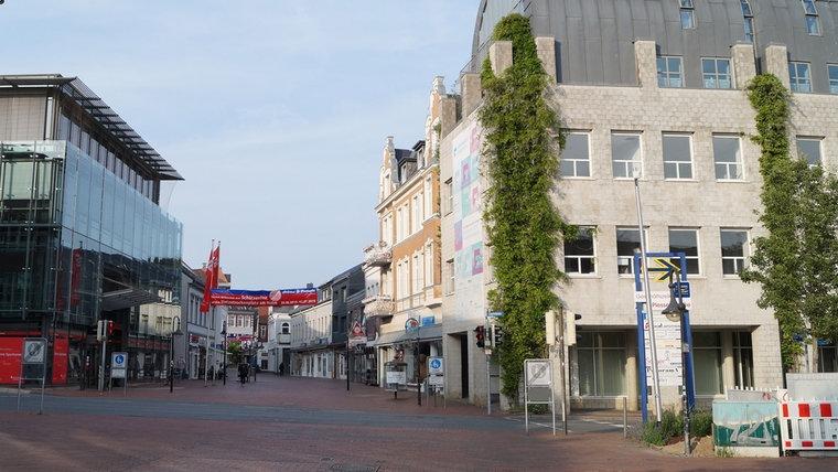 Ein neues Foto des Stadtweges Ost in Schleswig. © NDR Foto: Peer-Axel Kroeske