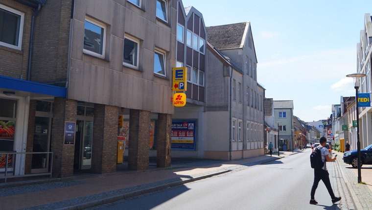 Ein neues Foto der Friedrichstraße in Schleswig. © NDR Foto: Peer-Axel Kroeske