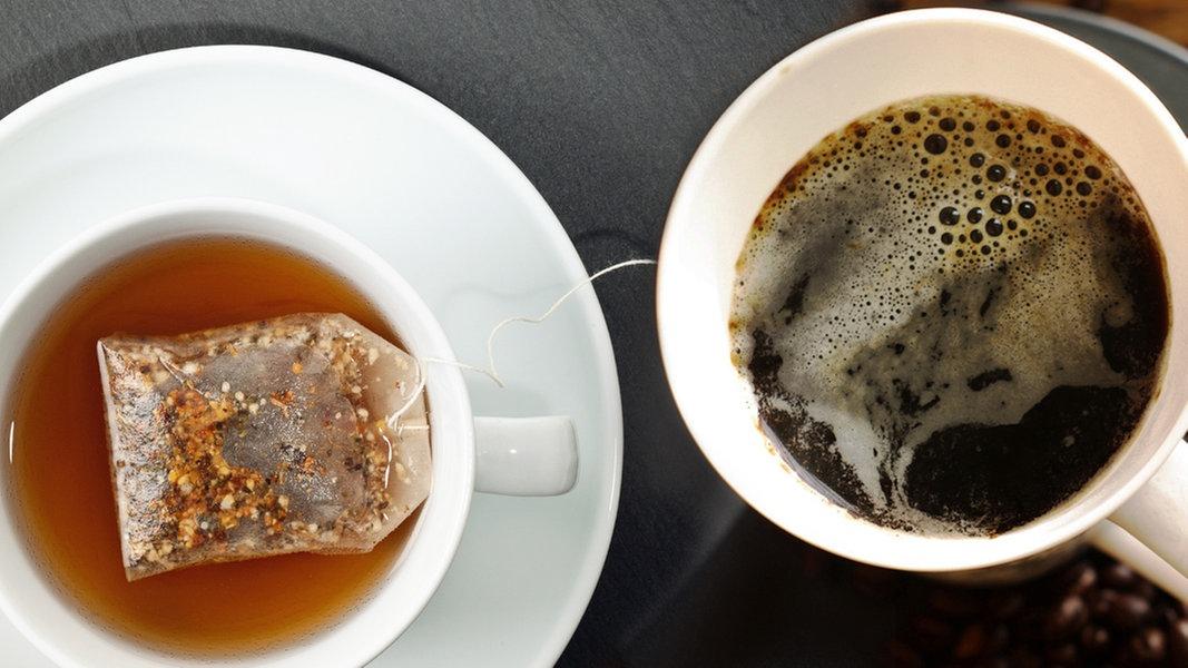 kaffee versus tee ratgeber gesundheit. Black Bedroom Furniture Sets. Home Design Ideas