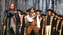 """""""Der Zigeunerbaron"""" in einer Inszenierung am Lübecker Theater. © Lutz Roeßler Foto: Lutz Roeßler"""