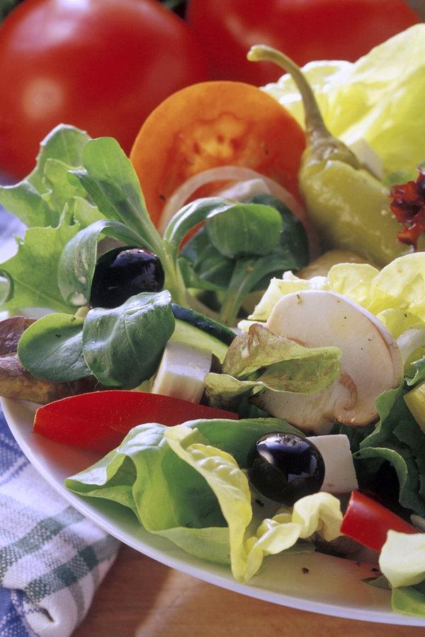 Einbrecher bei frischem Salat ertappt