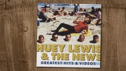 "Das Cover zu Huey Lewis & the News Album ""Greatest Hits & Videos"". © Capitol / EMI Music Germany GmbH & Co.KG"